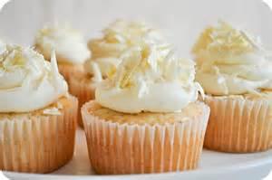 cupcake al cioccolato bianco