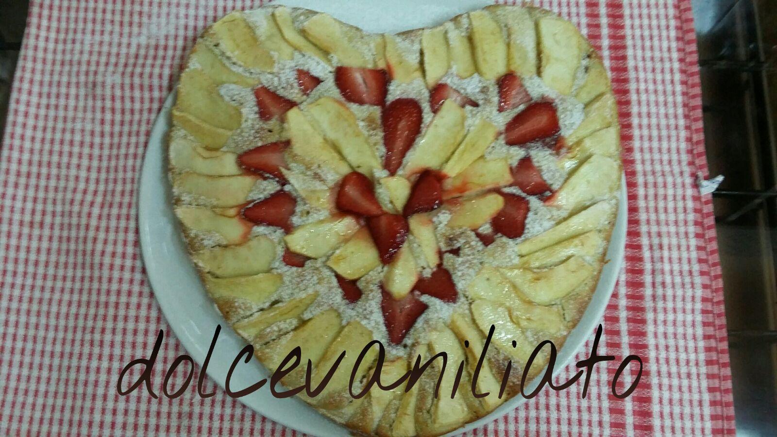 Torta Mele e Fragole di Desy