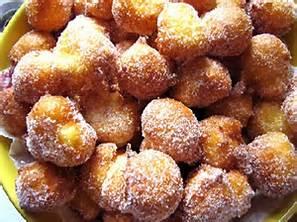 Frittelle zuccherate