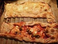 Focaccia tipo Recco e Pizza