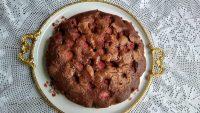Torta alle ciliegie al cacao gluten-free